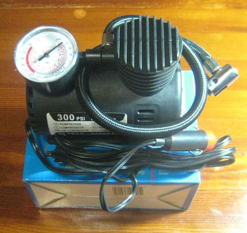 Насос от прикуривателя Air Compressor DC12V-300PS (новый, магазин)