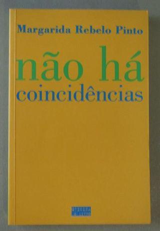 NOVO PREÇO!!! LIVRO «não há coincidências» - Margarida Rebelo Pinto