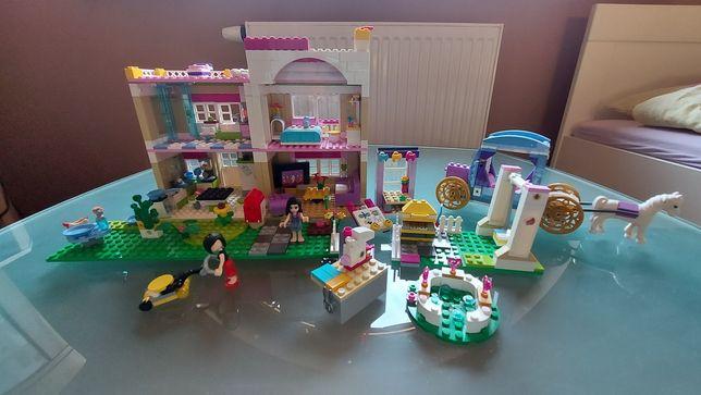 Duzy zestaw Lego Frends Dom Kareta  dla dziewczynki