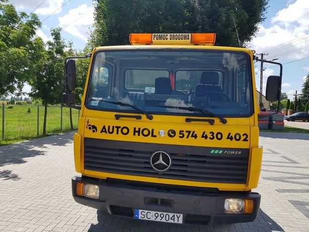 Pomoc drogowa Holowanie pojazdów przewóz wózków widłowych maszyn