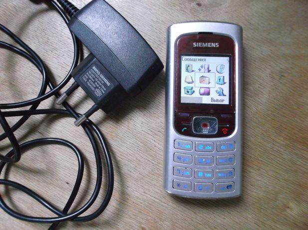 Мобильный телефон Siemens A-31, всё работает . Сименс.