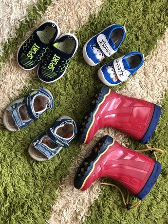 Обувь на мальчика 22 размер цена за все