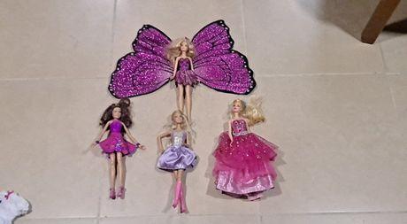 Bonecas Barbie Diversas NOVAS ( Incluindo Barbie Mariposa)
