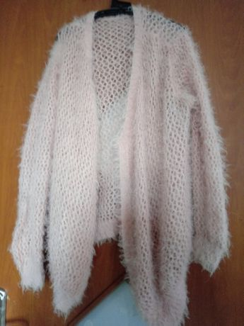 Sweter otulacz kardigan