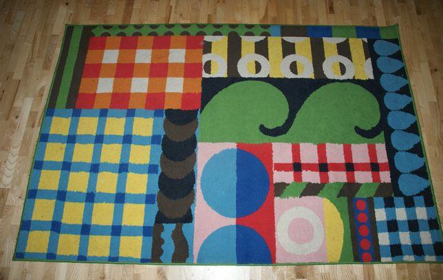 195X130 Ikea kolorowy dywan pokój dziecięcy