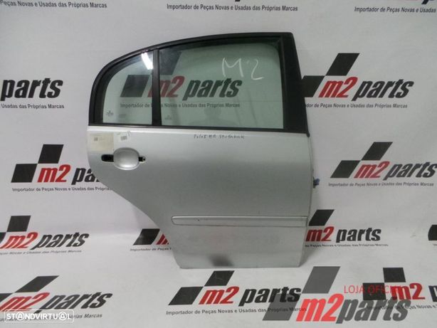 Porta Direito/Trás VW POLO CLASSIC (6V2) Cinza Prata Semi-Novo