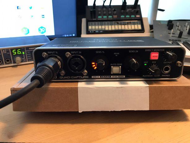 Placa de som Roland Quad-Capture Interface, vendo ou troco