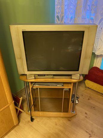 Oddam za darmo telewizor i szafka