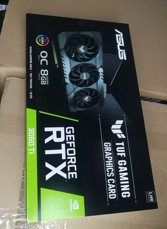 Відеокарта Asus Tuf Gaming OC GeForce RTX 3060TI lhr