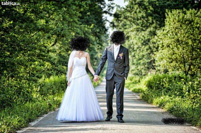 Śliczna suknia ślubna okazja