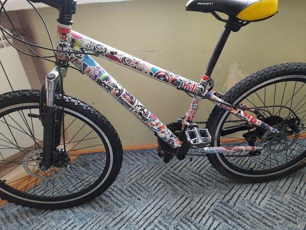 Велосипед на 24 колесах