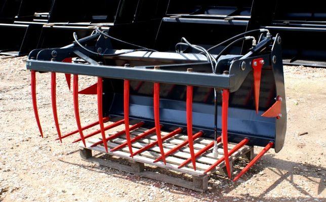 PRODUCENT Krokodyl na tur ładowacz czołowy kute zęby 1,4 m łyżko łycho