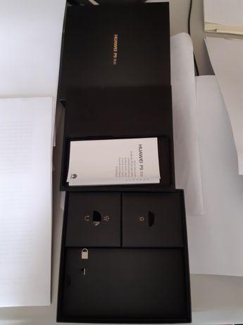 caixa e acessórios P9 lite