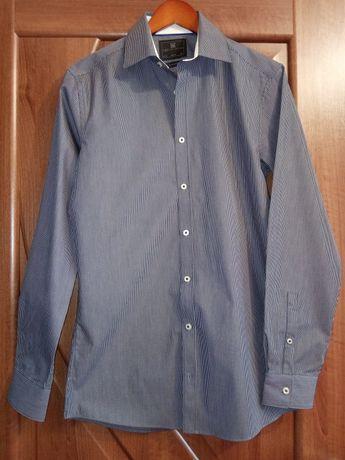 Рубашка мужская приталенная M&S slim fit р.37 14 1/2