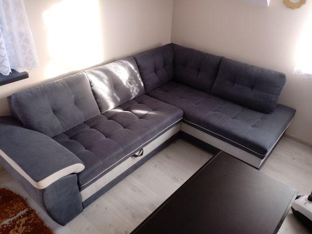 Naroznik kanapa rogowka wypoczynek f. Spania nowy