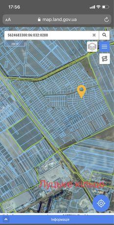 Продаж землі в районі Луцького кільця