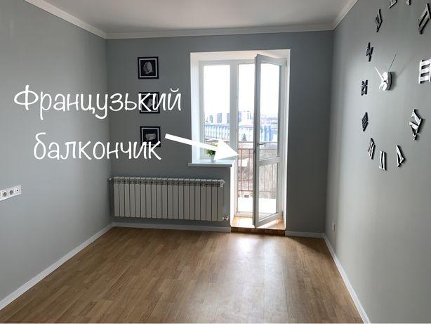 Однокімнатна  квартира з ремонтом 1 - кім.