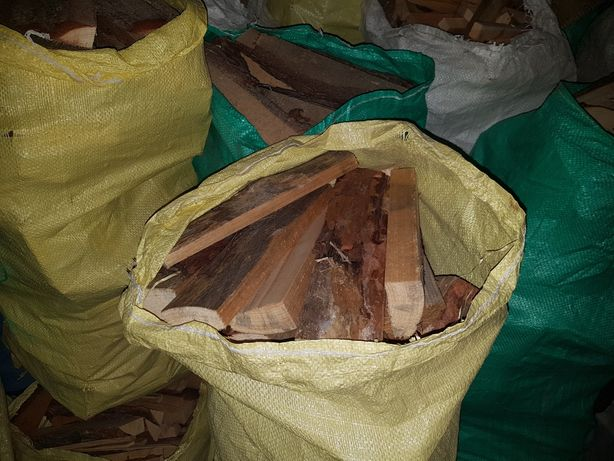 Opał workowany, drewno rozpałkowe