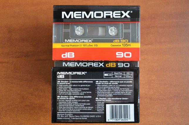Аудиокассеты, кассеты MEMOREX dB90 1985 год