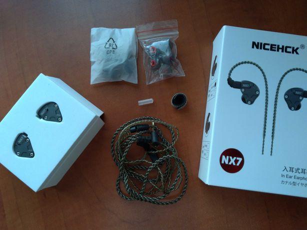 Słuchawki dokanałowe, douszne, IEM NiceHCK NX7
