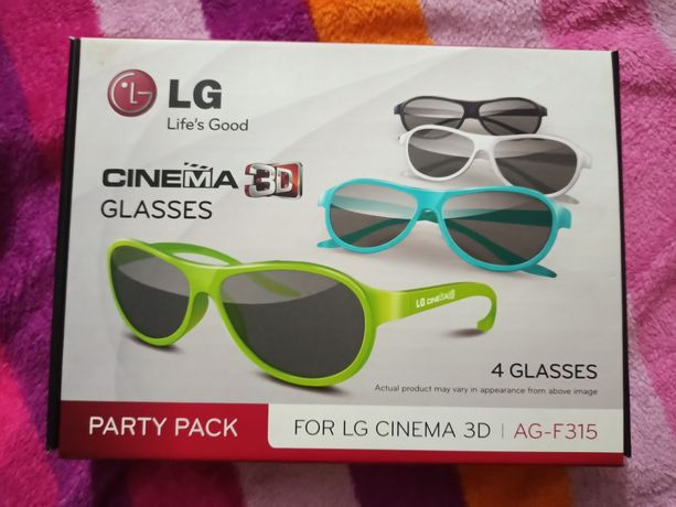 Okulary do telewizora LG 3D AG-F315