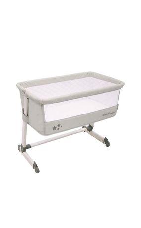 Mini berço. SALVO Mini-berço para cama Asalvo cinzento