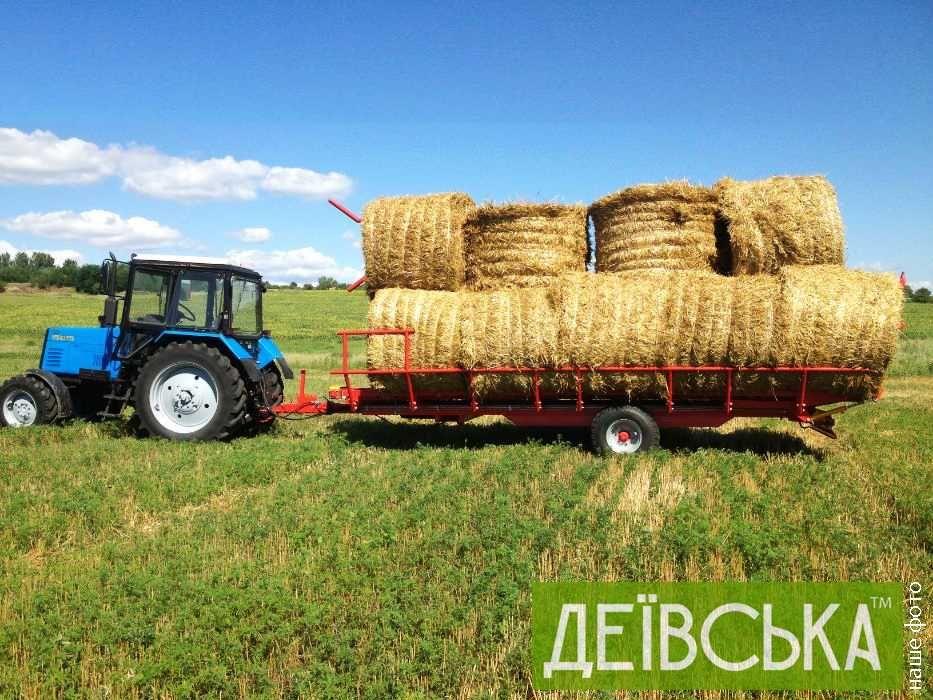 Причіп рулоновоз, тюковоз ПТ-15 (ТМ Кобзаренко)