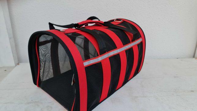 Transportadora de nylon (estilo bolsa) para animais domésticos