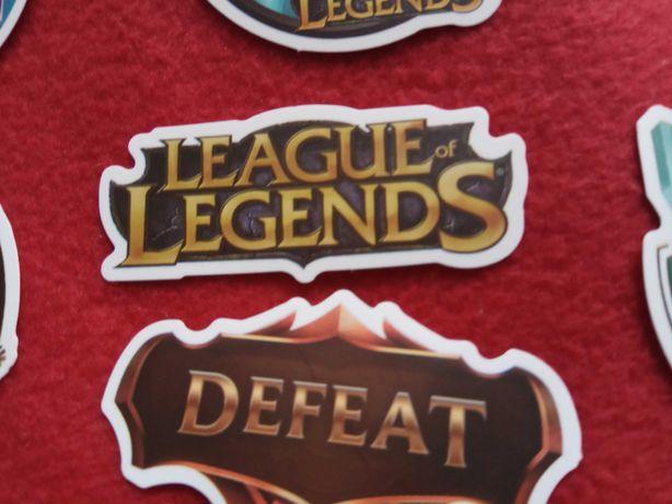 League of legends naklejki 100 sztuk się anime manga gra online