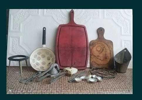 Кухонная утварь СССР для консервации закатки ретро доска друшлаг