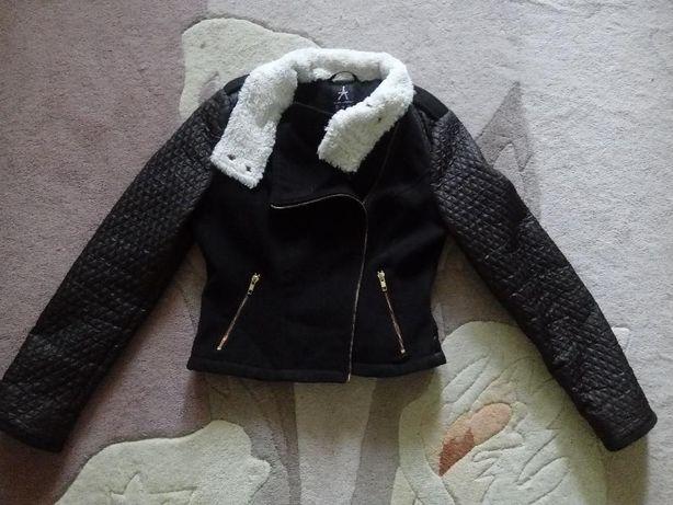 Стильная демисезонная куртка косуха