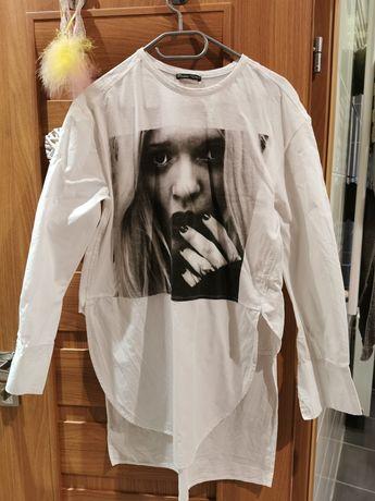 Biała koszula zara xs