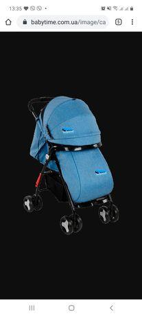 Лёгкая детская прогулочная коляска