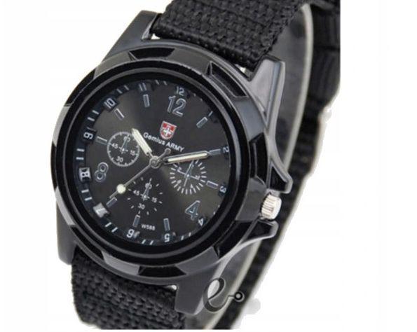 Zegarek męski wojskowy GENIUS ARMY czarny Wieleń - image 1