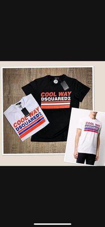 Koszulka Męska rozmiar L Dsquared2 czarna