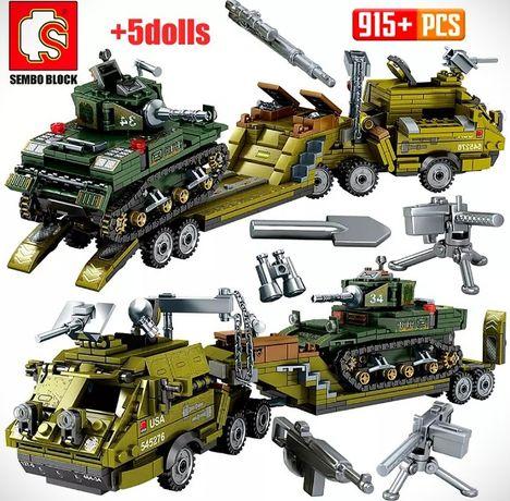 Конструктор Лего машина танк