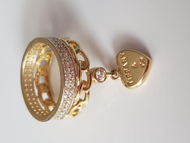 Złoty pierścionek Próba 585 Nowy