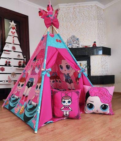 Палатка вигвам, детский игровой домик. Оплата при получении!Производс