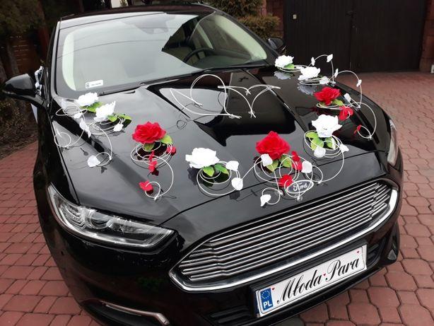 Dekoracja na samochód WYSYŁKA ozdoby auto stroiki