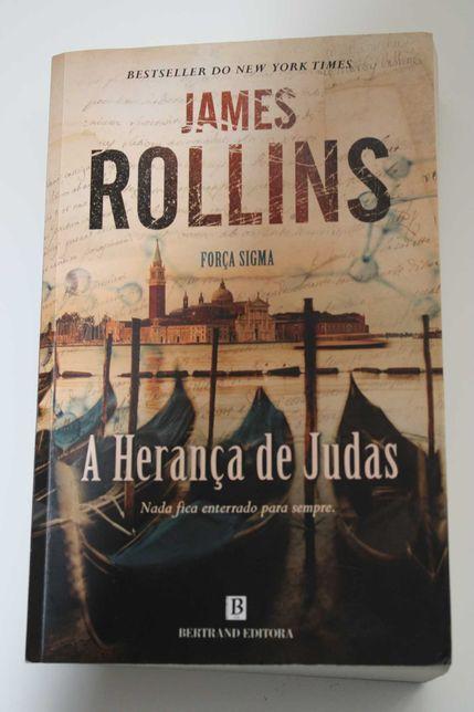 """livro- """"A herança de Judas"""" (portes incluídos)"""