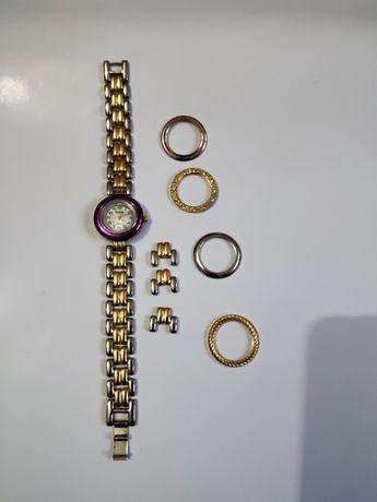 Женские часы со съёмными ободками Germany 5 в 1 одном 18 см (21 см)