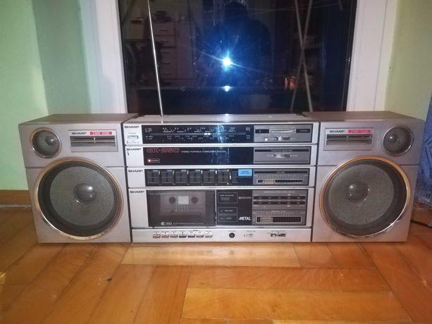 radioodtwarzacz Sharp GX-250H Magnetofon Radio FM LW MW SW AUX