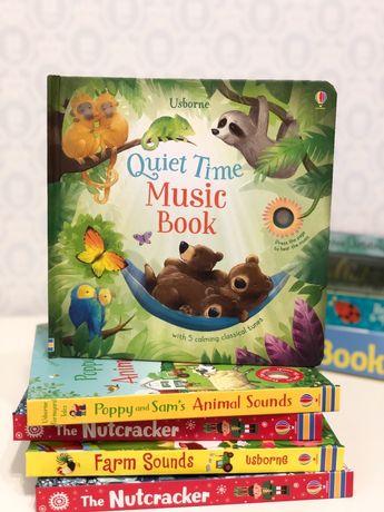 Usborne Quite time music музыкальная игрушка-книга,колыбельные