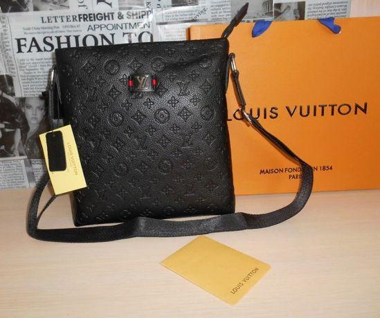Skorzana męska torba Listonoszka Louis Vuitton, skóra, Francja LV 110
