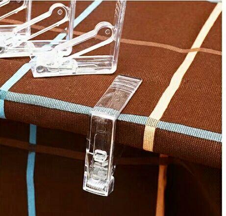 Зажимы для скатерти / прищепки для скатерти набор 4 шт.