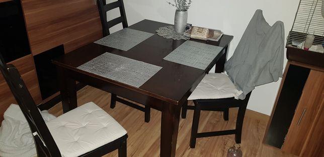Stół +4y krzesła