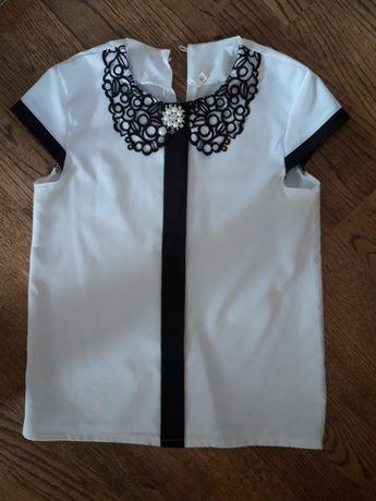 Блузка школьная 134 см