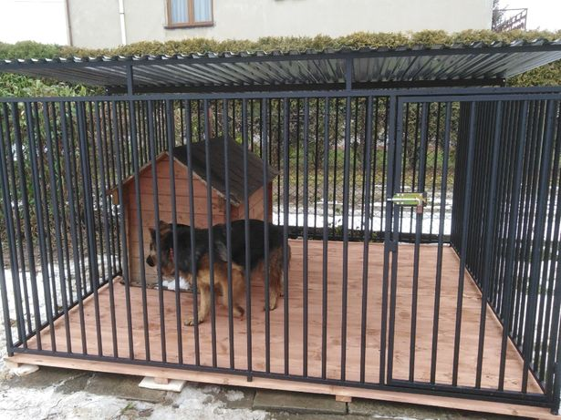 Kojce Klatki Boksy Kojec dla psa 4x4m