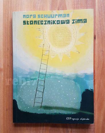 książka Słonecznikowa zima, Nora Schuurman święta, mikołaj