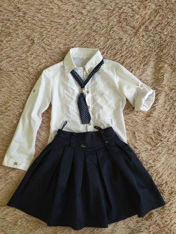 блузка и юбка в школу на девочку 10-12 лет
